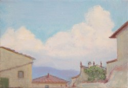 Osamu_The clouds over  the houses(35X50) 800E