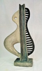 Music Instruments 2  Stoneware - English clay1280C(53cmX28cmX11,5cm)      Front             Price 600 E
