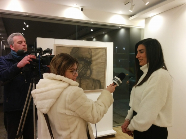 Interview of Nina Michailidou at TV100 (in Greek)