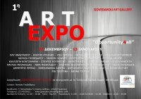"1st ArtExpo: ""Opportunity4all"""